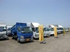 トラック応援団として日々お客様のために尽くします!