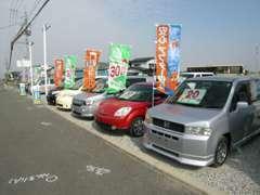 国道3号線沿い、富合「新幹線基地」向かいになります。