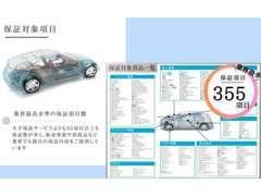 最高水準の保証項目数!レッカー/代車もご用意も一括サポート!