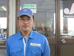 担当の永田です★真心こめた親切丁寧をモットーに接客いたします