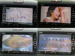 ナビゲーションはホンダGathersナビ AM FM CD DVD再生 Bluetooth フルセグTVがご使用いただけます。 バックカメラ装備で車庫入れの時は安心です。