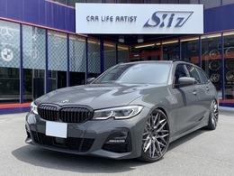 BMW 3シリーズツーリング 320d xドライブ Mスポーツ ディーゼルターボ 4WD サンルーフ 黒革シート レーザーライト