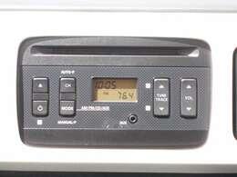 シンプルなラジオCDデッキです!