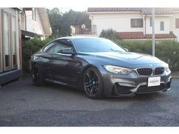 BMW M4クーペ M DCT ドライブロジック カーボンルーフ カーボンミラー ETC