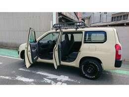SUVなプロボックスはどうでしょう?