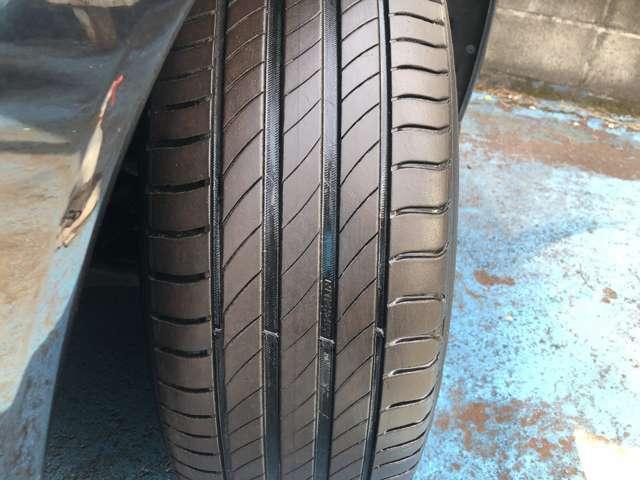 装着タイヤはミシュラン / 18年モデル / プライマシー / 山7分以上とまだまだ長く安心してご使用頂けます♪