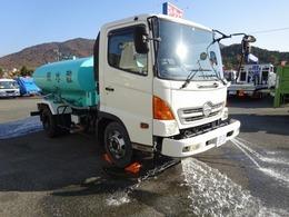 日野自動車 レンジャー 散水車 4000L積み 極東開発 PTO式 LH04-303
