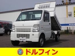 スズキ キャリイ 浅底ダンプ 切替式4WD 5MT エアコン パワステ 車検2年