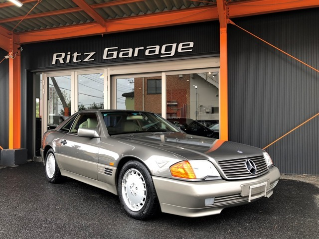 1991yモデル!メルセデス・ベンツ500SL!走行950km!ディーラー車両!大変走行距離が少ないきれいな車両が入庫されました!