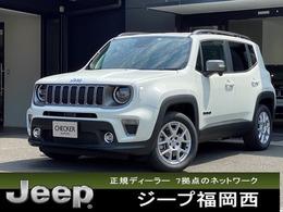 ジープ レネゲード リミテッド 4xe 4WD 弊社デモカ レザーシート 純正ナビ