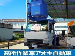 いすゞ エルフ 3.0DT 高所作業車 タダノ製AT121-12m 1608.0h 6速MT