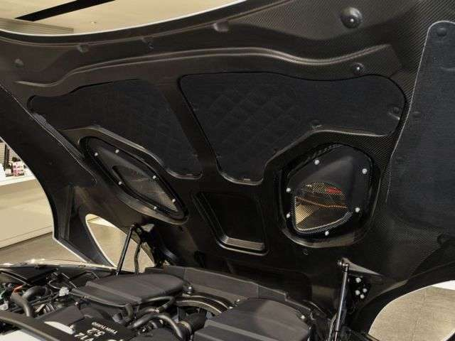 ボンネットフードもカーボンファイバー製で軽量化されております!