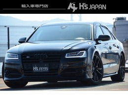 アウディ S8 プラス 4WD B&O サンルーフ カーボンスポイラー