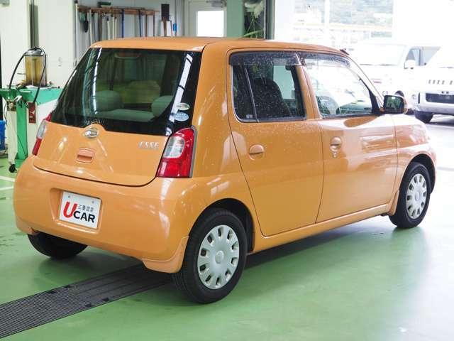 コンパクトなボディで小回りの利く使い勝手の良いお車です♪