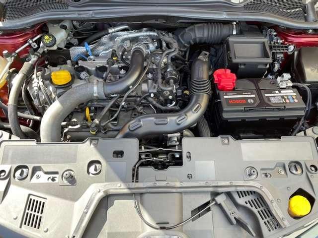 118馬力(カタログ値)を発生する、1.2リッターターボエンジンを搭載。