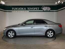 トヨタの上級FRセダン、スポーティなドライビングが魅力のマークX250G リラックスセレクションが入荷しました。
