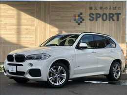 BMW X5 xドライブ 35d Mスポーツ 4WD サンルーフ インテリセーフ 本革 ナビTV