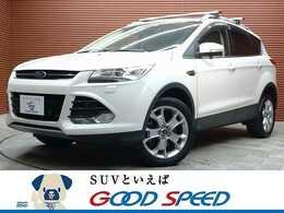 フォード クーガ タイタニアム 4WD SDナビTV サンルーフ 黒革シート HID 4