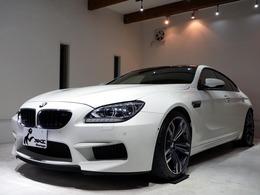 BMW M6 グランクーペ 4.4 1オーナー 黒革シート ソフトクローズドア