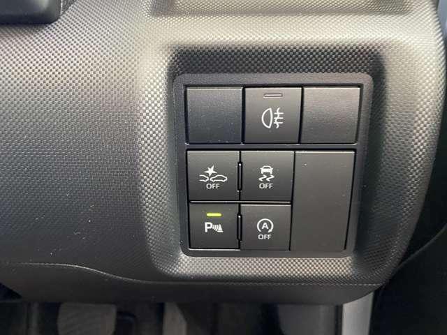 安全装備もバッチリ☆コーナーセンサーも付いているので障害物を検知します!