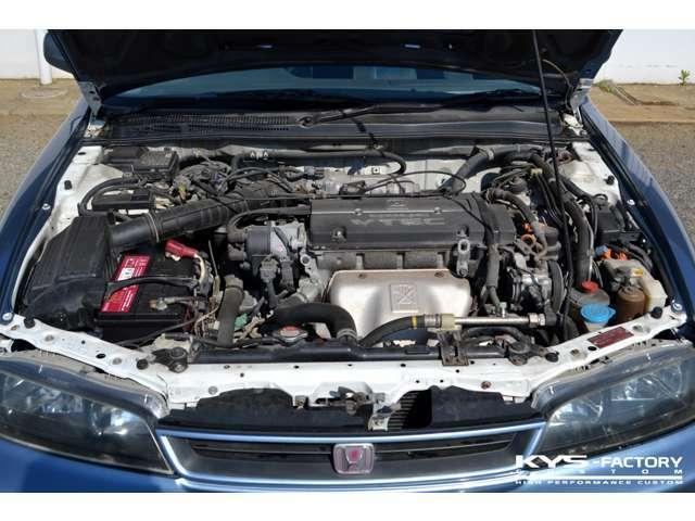 DOHC VTECエンジン「H22A」