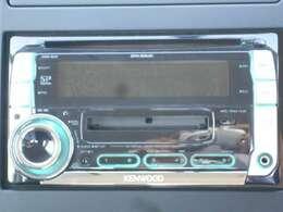 ケンウッド製CD・MDチューナー搭載♪ナビやバックモニター、ETCなどお取り付けできますので、詳しくはスタッフまでお問い合わせ下さい。