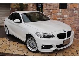 BMW 2シリーズクーペ 220i Mスポーツ ブラックレザー 純正HDDナビ ETC