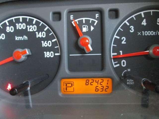走行距離は、 82,422kmですよ。