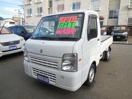 スズキ キャリイ 660 FC エアコン・パワステ 3方開 4WD 関東圏使用車