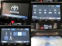 お出掛け嬉しい、純正9型ナビ(フルセグ地デジTV)付です♪DVDビデオ再生機能・音楽録音機能・Bluetooth接続も可能です♪