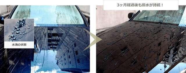 Bプラン画像:水系・油系両面の汚れを寄せ付けず、長期間にわたって美しいボディを維持します。