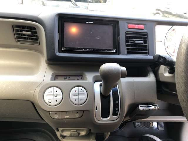 ナビにオートエアコン装備 スマートキーになります