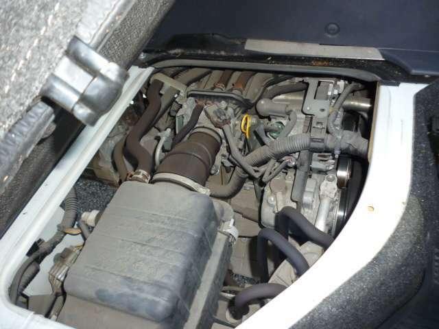 K6A型タイミングチェーン方式エンジンです♪