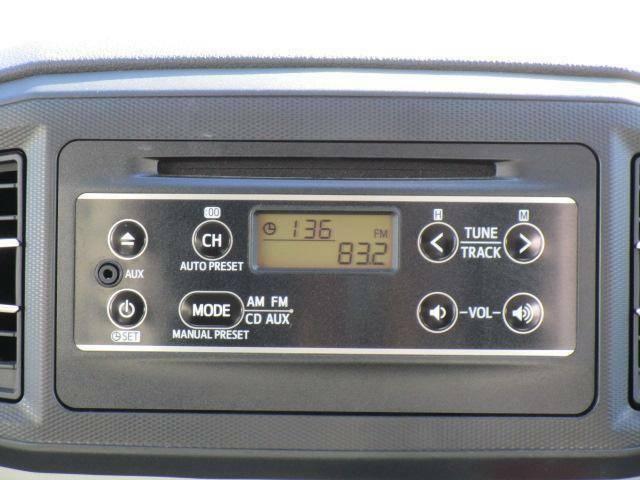CD/AM・FMラジオチューナー装備です!