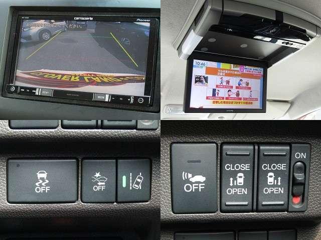 H28年 フリードHV Gホンダセンシング 衝突軽減ブレーキ/車線逸脱警報/レーダークルーズ/ETC/社外フルセグナビ/フリップダウンモニター/バックカメラ/両側電動スライド/LEDヘッド/ウィンカーミラー/