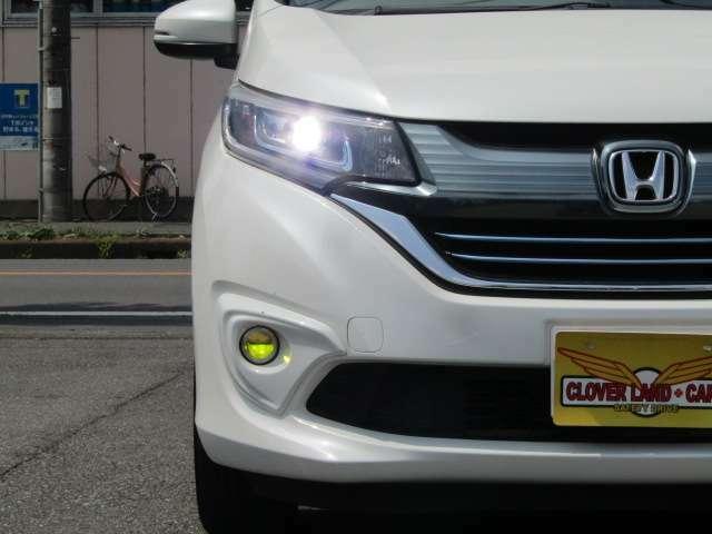 【LEDヘッドライト&フォグランプ!】夜のドライブも雨の日でも安心して走行出来ます☆