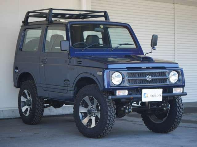 人気のJA11が入庫致しました。改造申請済み車両。