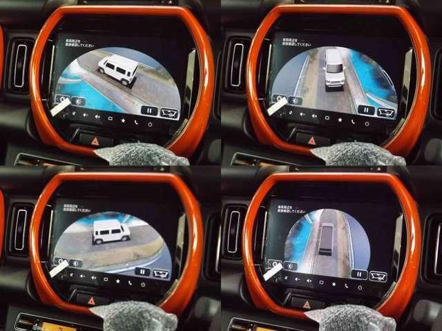 ■新開発9インチHDディスプレイ搭載のメモリーナビ■全方位カメラ(メーカーオプション)■オレンジインテリア(メーカーオプション)