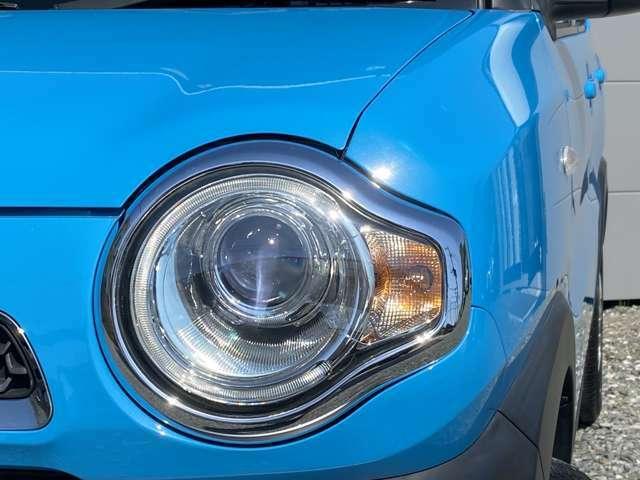 キセノンヘッドライトは、見た良く、とても明るいです♪夜間のドライブも安心ですよ!!