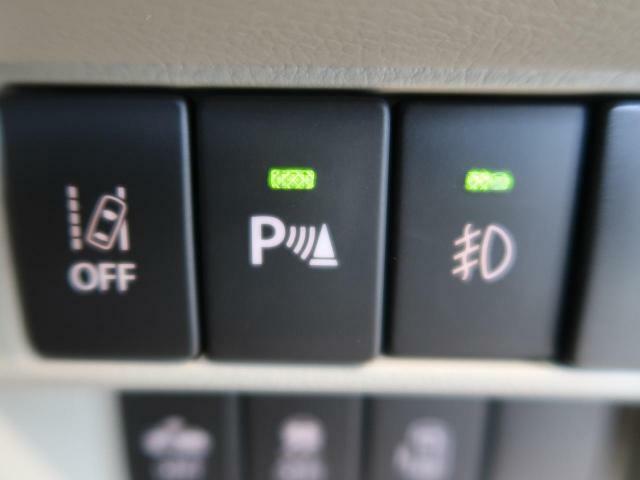 【パーキングセンサー】リアバンパーに付いたセンサーが障害物が一定の距離に近づくとアラームで教えてくれます♪苦手な車庫入れも安心ですね☆