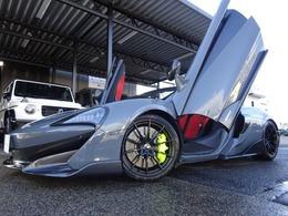 マクラーレン 600LTスパイダー 3.8 正規D車 ワンオーナー車 アップグレード1