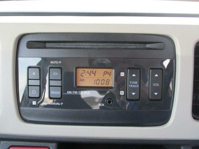 CDステレオ付きです。