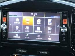 純正SDナビゲーション装備☆フルセグTVも視聴可能で快適ドライブをご提供致します☆