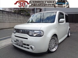日産 キューブ 1.5 15X 17インチAW・車高調・タナベマフラー