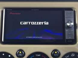 カロッツェリアナビ付きで知らない土地のドライブも安心!CD、DVD、TVも楽しめます♪