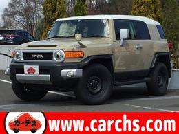 トヨタ FJクルーザー 4.0 4WD 禁煙車/カロナビ&DTV/DVD/Bカメラ/BT