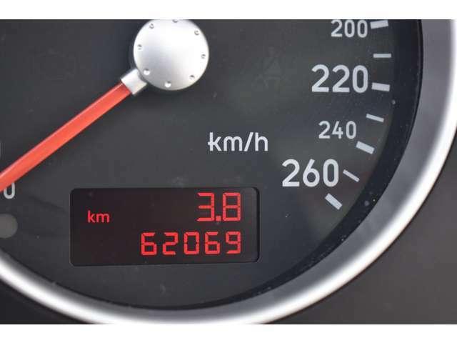 ★62069km 全車、走行管理システムにてチェックしております。 ご安心ください。