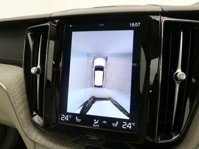 ◆360度ビューカメラ全方位からの映像を視覚化し、今までの駐車時の見えなかった箇所も楽々に見えるようになります。バックカメラ、フロントカメラ、サイドカメラの映像とは切り替えも可能です。