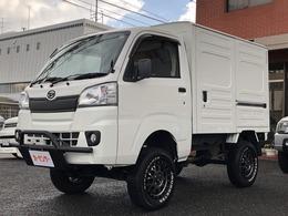 ダイハツ ハイゼットトラック パネルバン 4WD リフトアップ公認 標準ルーフ バンパーガード 社外アルミ