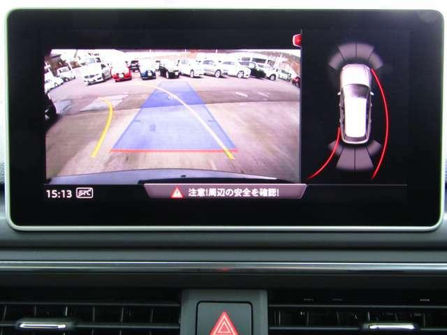 バックカメラ♪コーナーセンサーも装備されているので安心して駐車することが出来ます♪